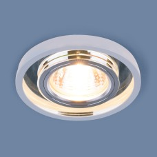 Точечный светодиодный светильник 7021 MR16 SL/WH зеркальный/белый