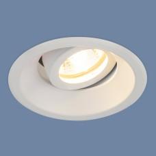 Алюминиевый точечный светильник 6068 MR16 WH белый
