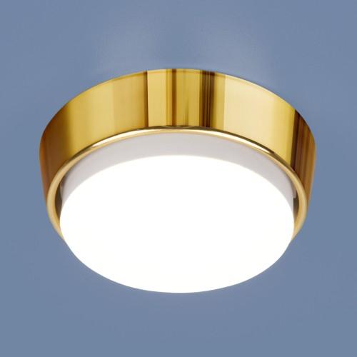 Накладной точечный светильник 1037 GX53 GD золото
