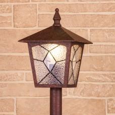 Lyra F брауни уличный светильник на столбе IP44 GL 1012F