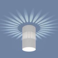 Накладной светодиодный светильник с подсветкой DLS026
