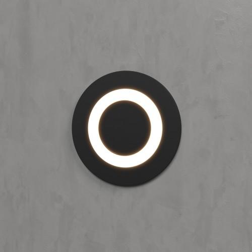 Подсветка для лестниц и дорожек MRL LED 1107 чёрный