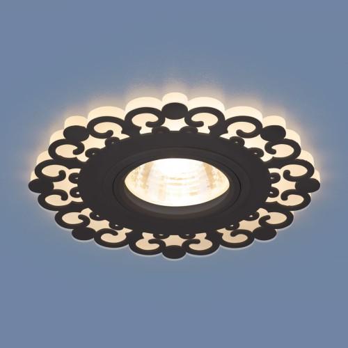 Точечный светодиодный светильник 2196 MR16 BK черный
