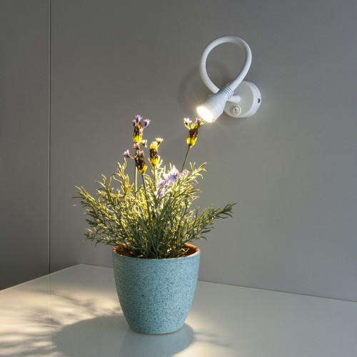 KORD LED белый Светодиодный светильник с гибким основанием MRL LED 1030