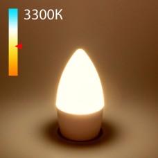 "Светодиодная лампа ""Свеча"" C37 8W 3300K E27 BLE2711"