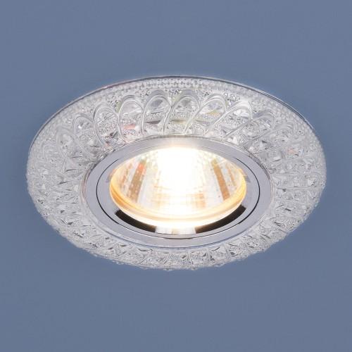 Встраиваемый потолочный светильник со светодиодной подсветкой 2180 MR16 CL прозрачный