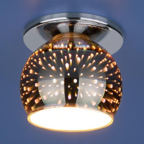 Точечный светильник 1103 G9 SL зеркальный
