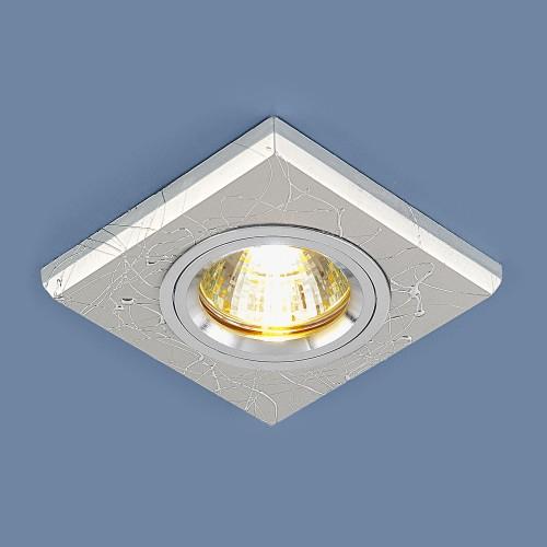 Встраиваемый точечный светильник 2080 MR16 SL серебро