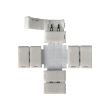 X-образный коннектор для одноцветной светодиодной ленты 5050 (5 шт.) LED 2X