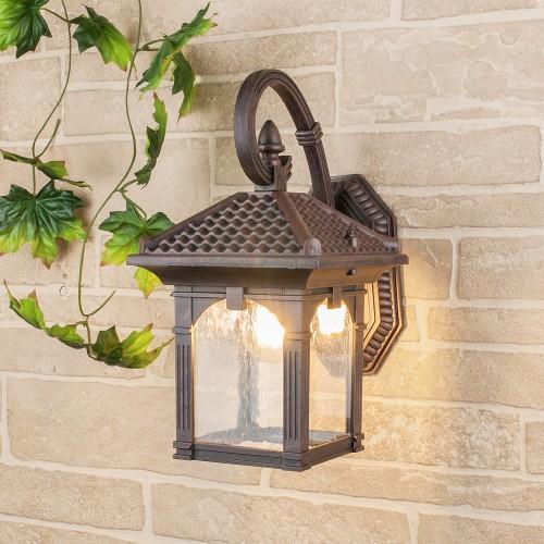 Corvus D капучино уличный настенный светильник GL 1021D