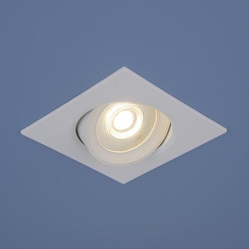 Встраиваемый потолочный светодиодный светильник 9915 LED 6W WH белый