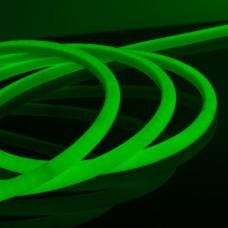 Комплект гибкого неона круглого зеленого 10 м 9,6 Вт/м 144 LED 2835 IP67 16 мм LS003 220V