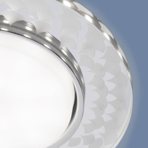 Встраиваемый точечный светильник с LED подсветкой 3037 GX53