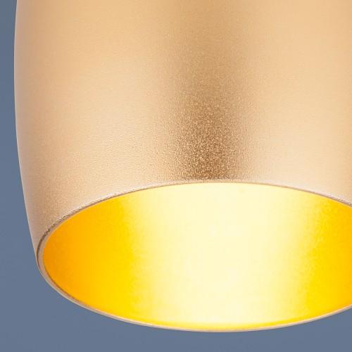 Встраиваемый потолочный светильник 6074 MR16 GD золото