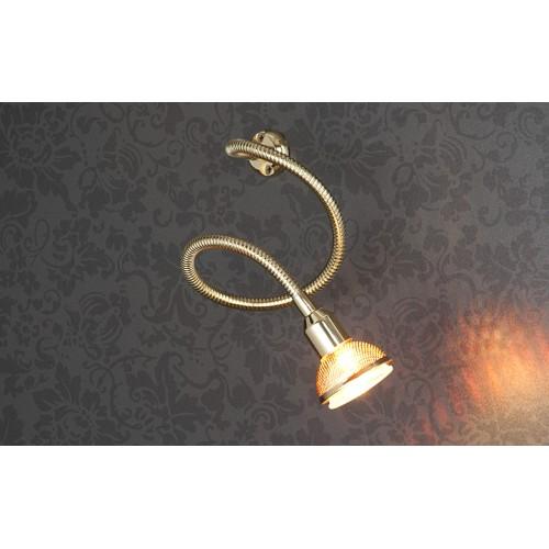 Подсветка галогенная 1214 MR16 золото