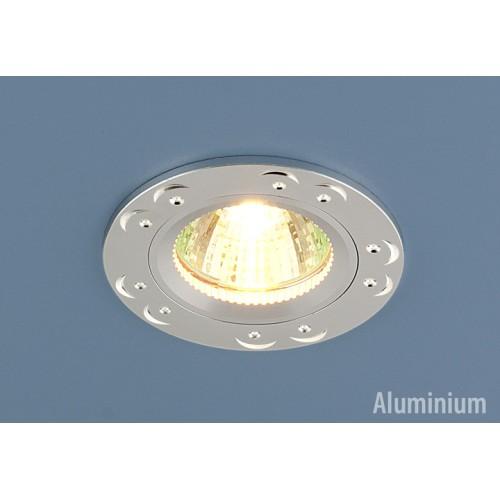 Точечный светильник из алюминия 5805 MR16 SS сатин серебро