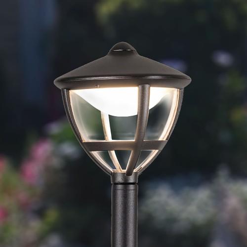 Gala F черный уличный светодиодный светильник на столбе IP44 GL LED 3001F