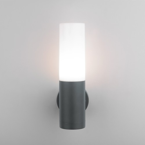 1418 TECHNO серый Настенный уличный светильник IP54 1418 TECHNO