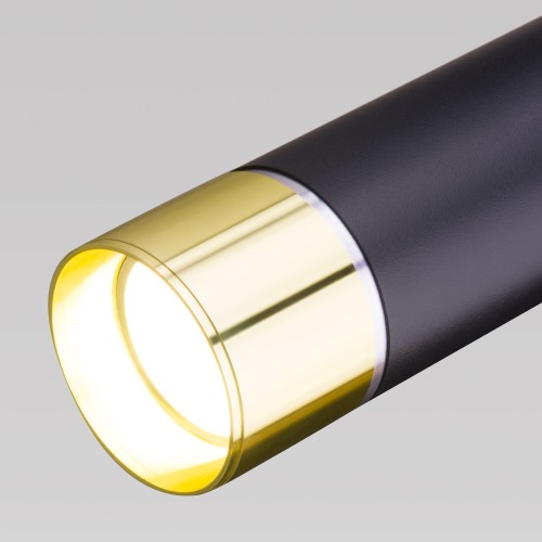DLN107 GU10 черный/золото DLN107 GU10