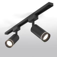 Трековый светодиодный светильник для однофазного шинопровода Glory Черный 7W 4200K LTB39