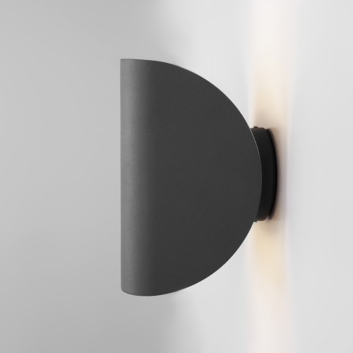Taco серый уличный настенный светодиодный светильник IP54 1632 TECHNO LED