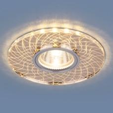 Точечный светодиодный светильник 8091 MR16 SL/GD зеркальный/золотой