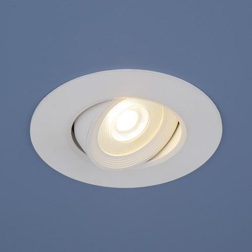 Встраиваемый потолочный светодиодный светильник 9914 LED 6W WH белый