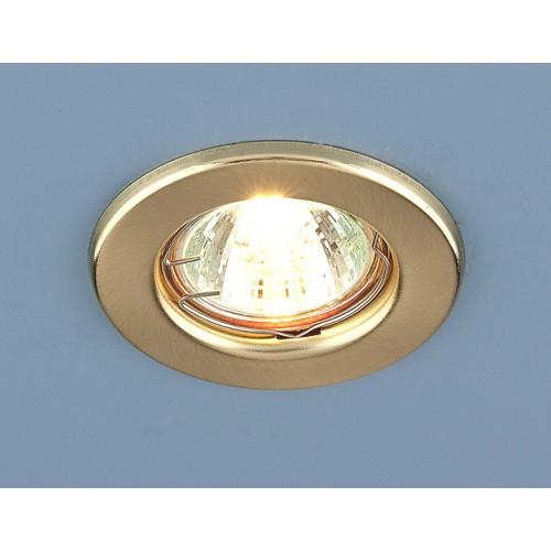 Точечный светильник 9210 MR16 SGD золото матовое