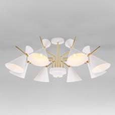Потолочная люстра в стиле лофт 70114/8 белый