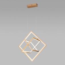 Подвесной светодиодный светильник 90224/3 матовое золото