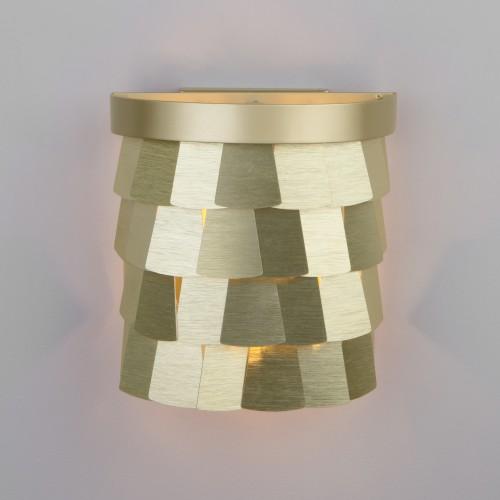 Настенный светильник с металлическим абажуром 317