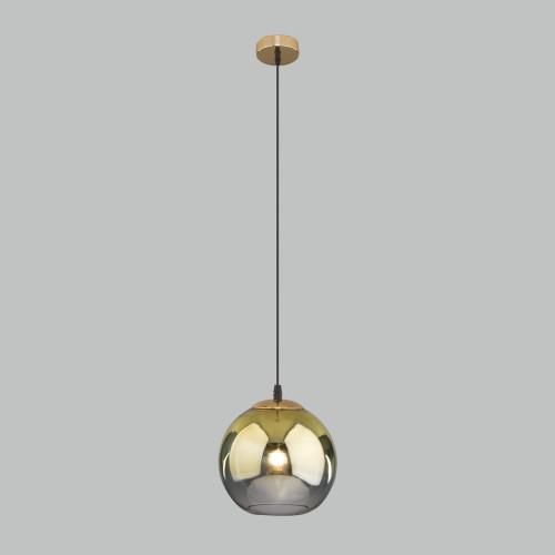 Подвесной светильник со стеклянным плафоном 50200/1 золото