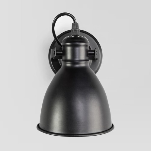 Бра с металлическим плафоном 70112/1 черный