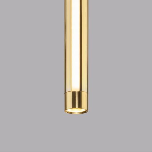 Подвесной светодиодный светильник 50189/1 LED черный/золото