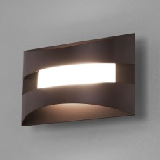 Настенный светодиодный светильник 40144/1 LED кофе