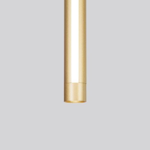 Подвесной светодиодный светильник 50189/1 LED матовое золото