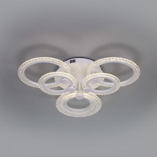 Потолочный светодиодный светильник с пультом управления 90226/6 белый