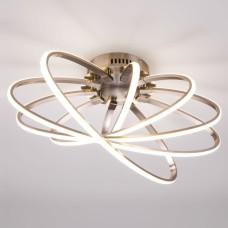 Потолочный светодиодный светильник 90100/5 сатин-никель