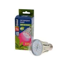 Светодиодная лампа для растений LED-A60-9W Uniel