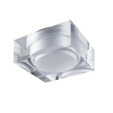 070242 Светильник ARTICO QUA LED 5W 400LM ХРОМ/ПРОЗРАЧНЫЙ/МАТОВЫЙ 3000K (в комплекте)