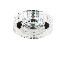006350 Светильник LEI FACETO CR MR16 ХРОМ/ПРОЗРАЧНЫЙ (в комплекте)