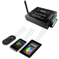 410904 Контроллер Master WiFi + RC LED RGB 12V/24V max 4A*3CH