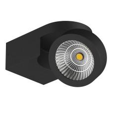 055173 Светильник SNODO LED 10W 980LM 23G ЧЕРНЫЙ 3000K IP20 (в комплекте)