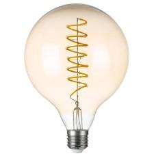 933304 Лампа LED FILAMENT 220V G125 E27 8W=80W 700LM 360G CL/AM 4000K 30000H (в комплекте)