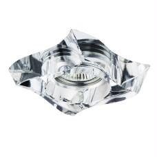 006430 Светильник FLUTTO MR16/HP16 ХРОМ/ПРОЗРАЧНЫЙ (в комплекте)