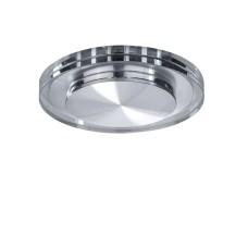 070312 Светильник SPECCIO CYL LED 5W 380LM ХРОМ/ПРОЗРАЧНЫЙ 3000K (в комплекте)