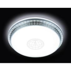 Потолочный светильник Orbital Design F128 WH SL 72W D500