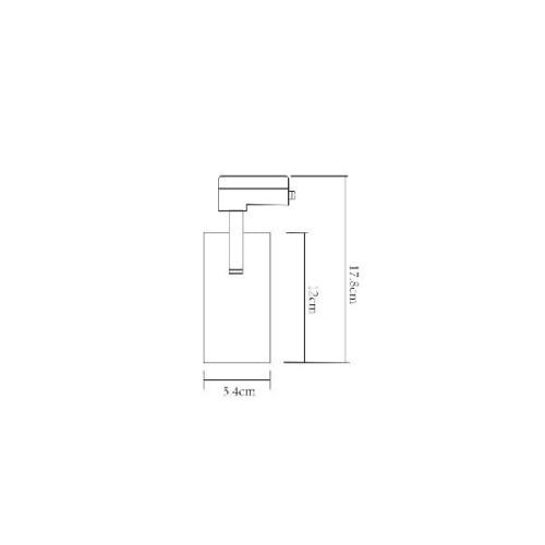 Трековый светильник Regulus A4568PL-1WH