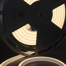 Светодиодная лента термостойкая теплого белого свечения 2835, IP68, 12 Вт/м, 24V