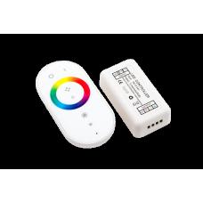 LED RGB радио сенсорный 18A. 12/24V Белый, модель 2, RF-RGB-S-18A-WH2